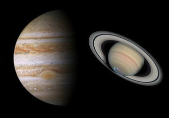 Kosmische kus: samenstand Jupiter & Saturnus 21 december 2020