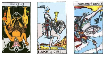 Tarotblog: omgekeerde kaarten in de tarot