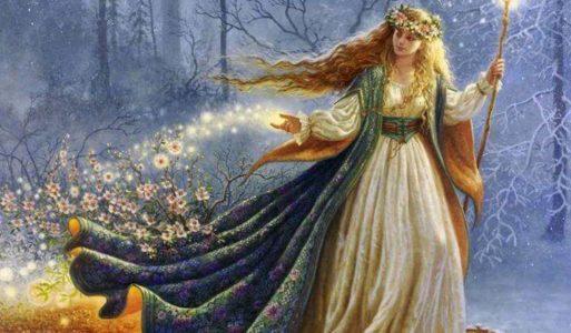 OSTARA                                                                                                 Lente-equinox 20 maart 2021-